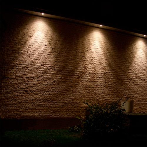 utomhusbelysning spotlight led
