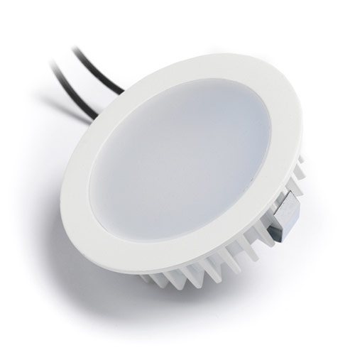 infällnad led vit belysning