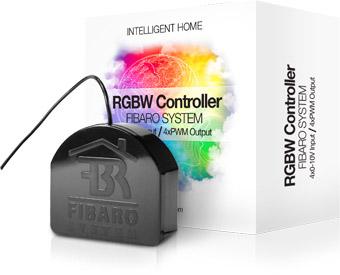 Fibaro RGBW Styrning