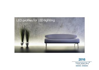 Aluminiumprofiler led belysning