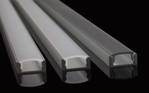 Aluminiumprofiler för led-belysning